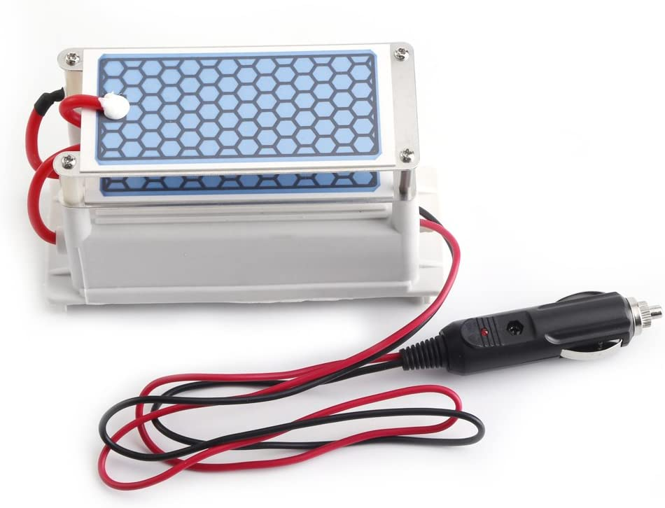 DC12V 10G/H generador de ozono cerámica placa, potable esterilizador de aire de ozoniseur, Ozone cerámica placas purificador para coche casa