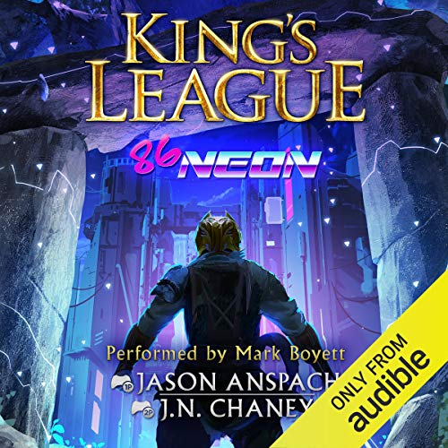 86-Neon Audiobook By Jason Anspach,                                                                                        JN Chaney cover art