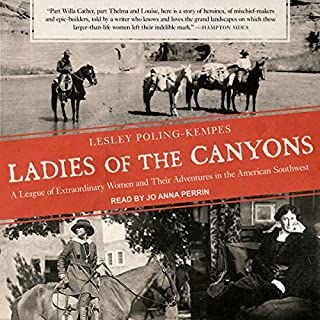 Ladies of the Canyons audiobook cover art