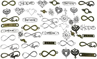 Best infinity charms for bracelets Reviews