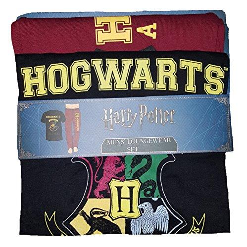 Harry Potter Hogwart's Alumni Sleep Loungewear Pajama Set - Medium