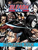 Bleach Coloring Book: Anime Coloring Book for Friends and Bleach Fans, Color One Of The Most Famous Manga In The World For Kids And Adults (8.5 x 11) +80 pages