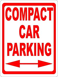 Compact Car Parking Only Sign 12