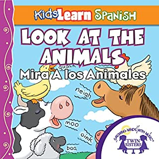 Kids Learn Spanish: Look At The Animals (Farm Animals) cover art