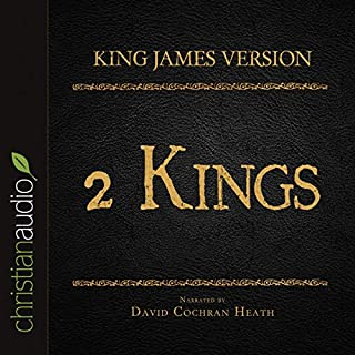 Holy Bible in Audio - King James Version: 2 Kings audiobook cover art