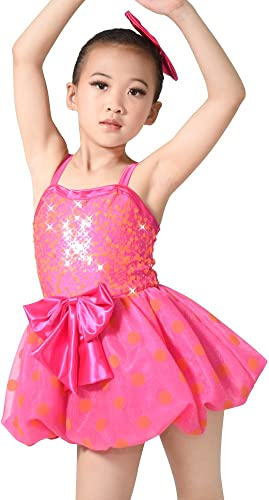 MiDee Little Girls 'Camisole Polka Dots Dance Costume Ballet Dress