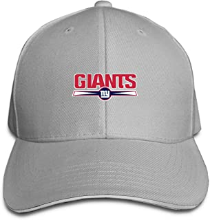 New York Giants Unisex Adjustable Sandwich Cap,Navy