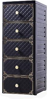 Vobajf Armoire de rangement simple pour la maison pour les vêtements de l'organisateur de rangement pour l'armoire pour la...