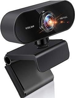webカメラ ウェブカメ フルHD 30FPS 1080P マイク内蔵 広角 自動光補正 ビデオ通話 会議 ネット授業 ゲーム実況 YouTube Windows XP/7/8/10/ 2000/Mac OS X/Android TV