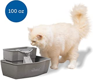 PetSafe Drinkwell Multi-Tier Cat and Dog Water Fountain – Automatic Drinking..