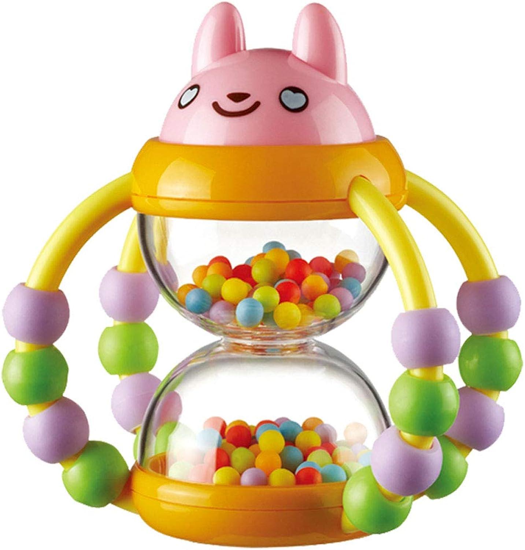 Jiamuxiangsi- Spielzeug - Sanduhr Rassel, Neugeborenes Baby Rassel Spielzeug - Flexible übung Finger - Baby-Spielzeug für Mnner und Frauen - Smart Games