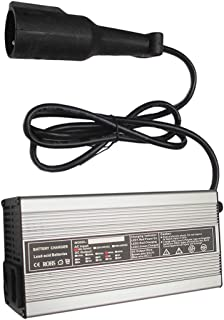 Club Car 48 Volt Golf Cart Battery Charger 5 amp - with 3 Pin Charge Plug