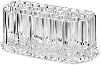 Transparent Generic Transparente Acryl Make-up Pinselhalter 26 L/öcher Pinselhalter Desktop Organizer Crystal Clear Kosmetik Pinsel Basis