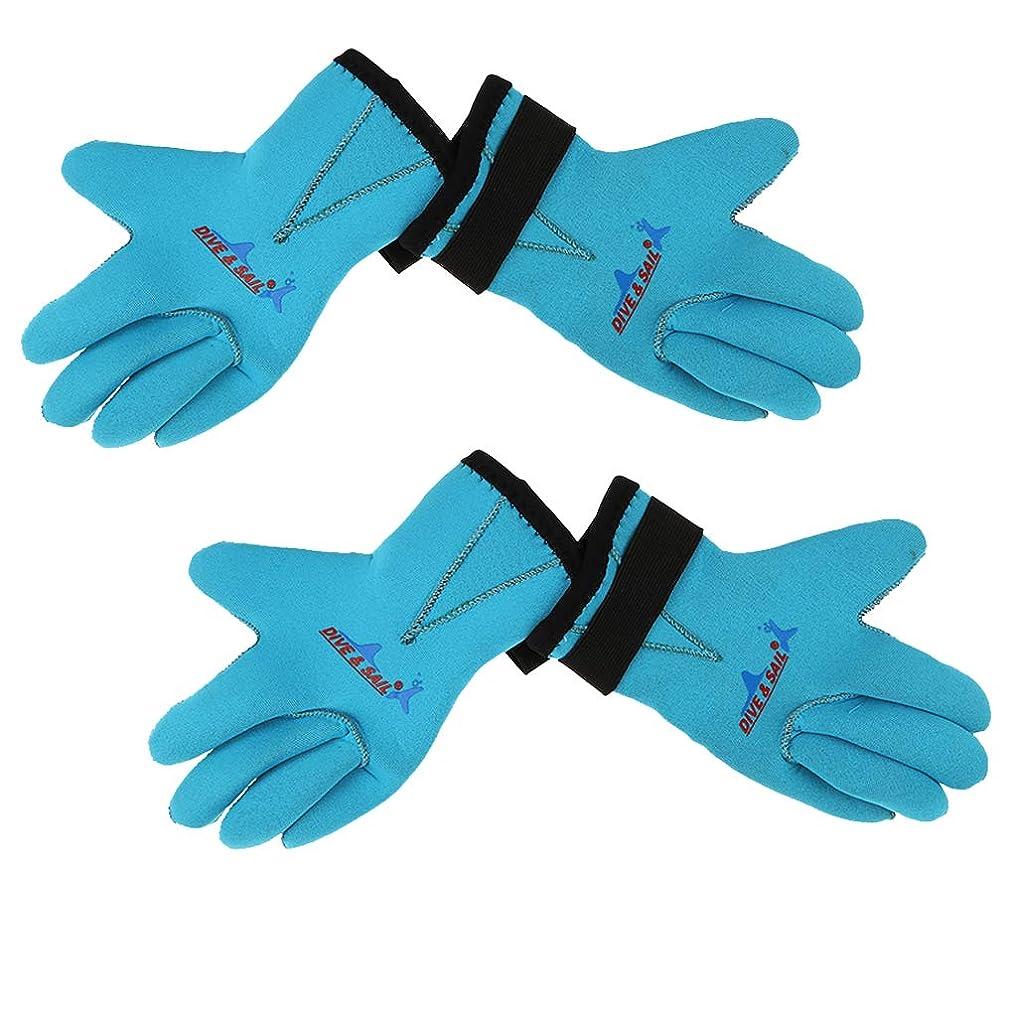 形寄稿者宿題をする水泳用 手袋 水泳グローブ 子供 ダイビング 水泳 アクセサリー 滑り止め 2組入り