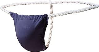 Newsywell Mens Fashion T-Back Thongs Ice Silk Low Rise Briefs Bikini Underwear