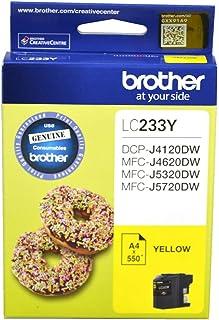 Brother LC-233 Inkjet Cartridge Yellow
