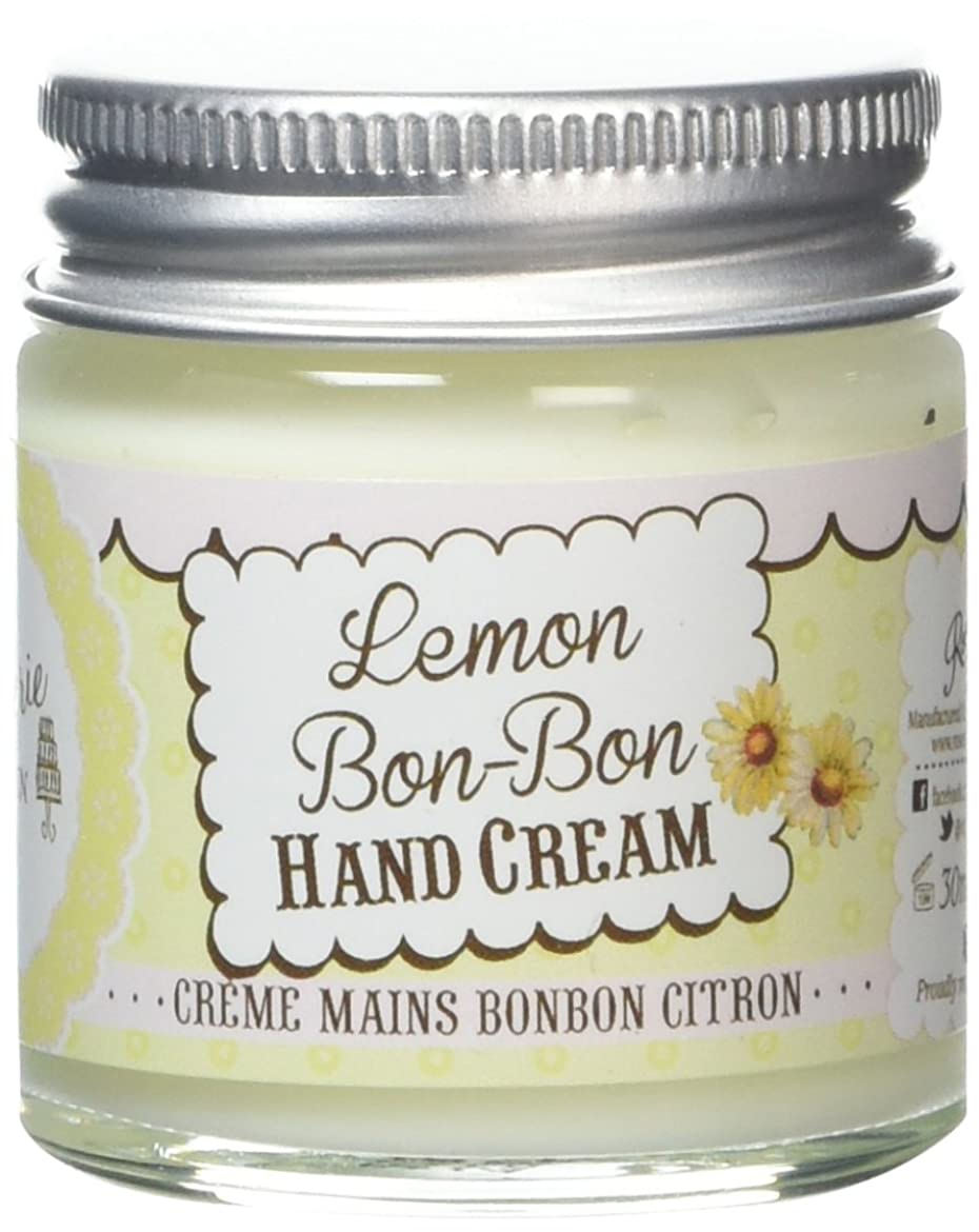 ファブリック多分休憩するRose And Co Patisserie De Bain LEMON BON BON Moisturising Hand Cream 30ml