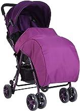 Fdit Cubierta de Pie Impermeable Cochecito Universal Bebé Protectores de Lluvia y Viento para Carritos de Bebé(Purpura)