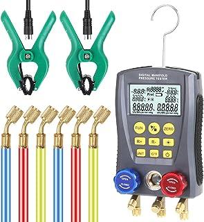 Romacci WZ-0031 Medidor de pressão Refrigeração Vácuo digital Medidor de pressão do coletor Medidor de aquecimento Ventila...