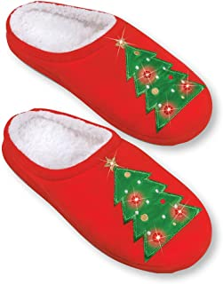 embroidered slippers women