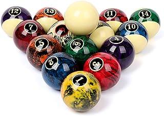 CUPPA Professional Pool Balls/Billiard Balls Set, Complete 16 Balls for Pool Tables