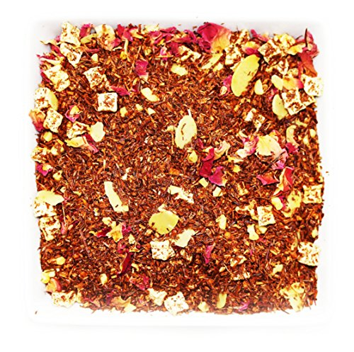 Tealyra - Amandine Rooibos - Red Bush - Almond - Loose Leaf Tea - Relaxing and Calming - Vitamins and Antioxidants Rich - Caffeine Free - All Natural - 112g (4-ounce)