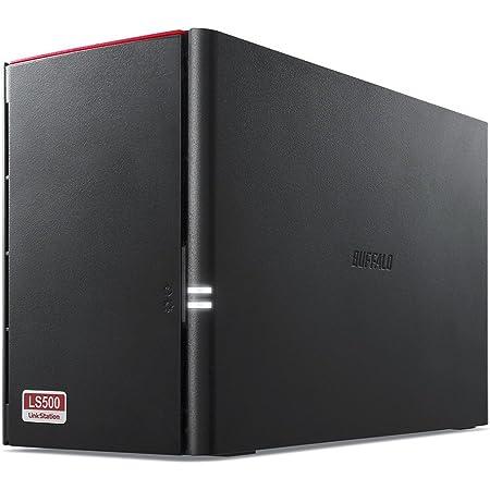 BUFFALO スマホ・タブレットで使える ネットワークHDD(NAS) デュアルコアCPU 高速モデル データを守るRAID1搭載 4TB LS520D0402
