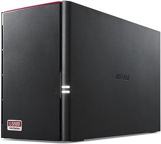 BUFFALO スマホ・タブレットで使える ネットワークHDD(NAS) デュアルコアCPU 高速モデル データを守るRAID1搭載 8TB LS520D0802