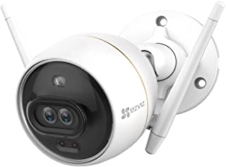 EZVIZ C3X Dual-lens Pro Wi-Fi Outdoor Security Camera with built-in AI 1080p FHD Color Night Vision Active Defense Two-Way...