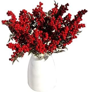 YUNIAO Artificial Fake Flower, Artificial Plant,Fashion Home Garden Decoration,Artificial Flowers Auspicious Fruits Rich Fruit Home Decor Plant Berries