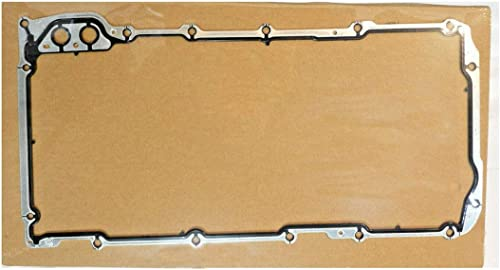 wholesale Oil Pan Gasket, Excellent Sealing Performance, Ship with Hardboard, Replacement for 1999-2019 GM Savana Sierra, lowest Chevy Silverado Suburban Express LS1 LS2 LS3 LM7 high quality LQ4 LQ9, Part Number 12612350 outlet online sale