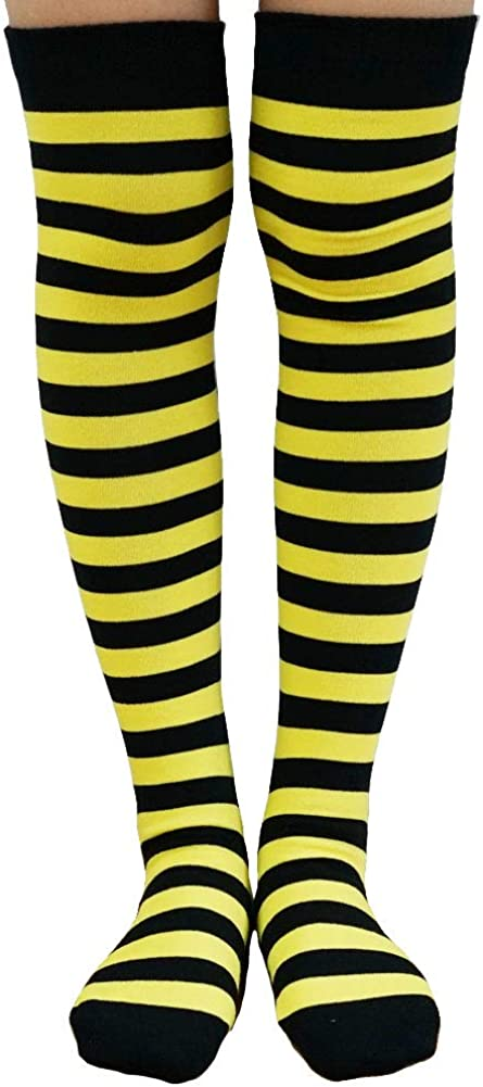Womens Over The Knee Socks Colorful Long 2021 model Striped H Tucson Mall Thigh Fashion
