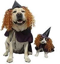 PZSSXDZW Pet Cat Size Cane Compleanno Vestito Vestiti Mantello Cappello Cosplay Festa Halloween Natale Immagine Colore l Mantello Lungo 38