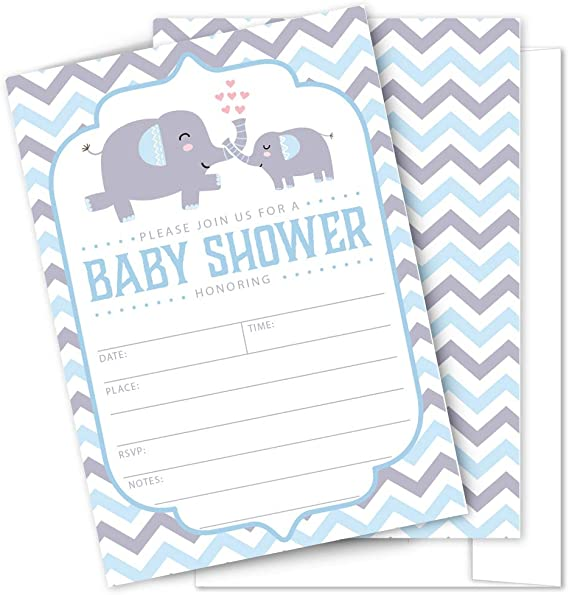 Elephant Large Stationery Sets Pages Only and Envelopes Only