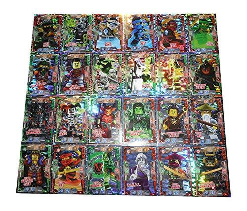 LEGO Ninjago 2 (Serie 2) Alle 24 Super Holo Karten