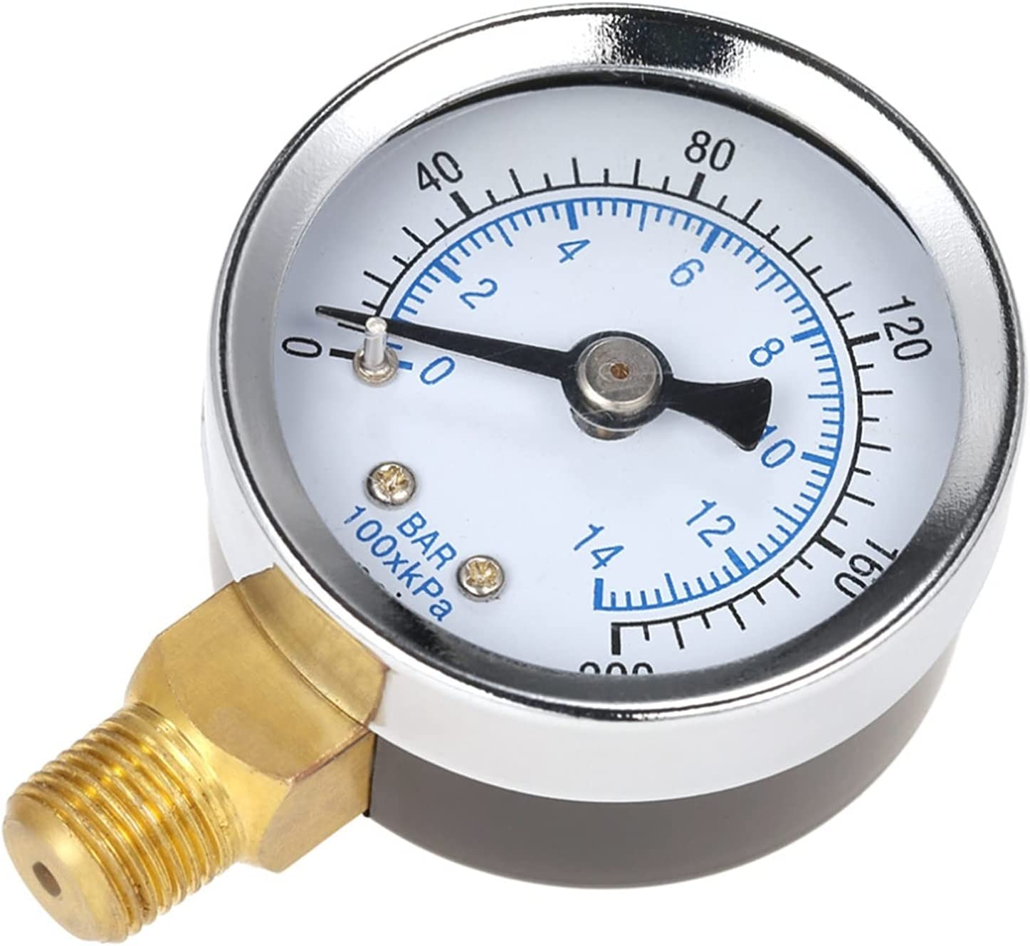 Direct sale of manufacturer CFDYKRP 40mm 0~200psi Import 0~14bar Pool Water Pressure Dial Hy Filter