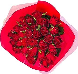 フラワーキッチン 赤バラ 30本 花束 配送地域限定商品