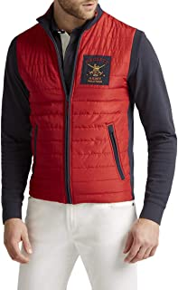 Hackett London Men's Army Gilet Sweatshirt