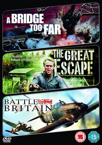 Max 44% OFF A Bridge Too Far The Great Escape DVD of 1977 Bombing free shipping Battle Britain