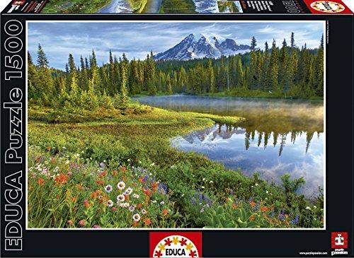 Puzzles Educa - Puzzle Parque Nacional Monte Rainier, Estados Unidos, 1500 Piezas (16309)