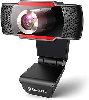 【2020年最新 テレワーク専用カメラ】J JOYACCESS ウェブカメラ フルHD 1080P 30fps 105°超広角 200万画素 高画質 Webカメラ マイク内蔵 USB PC外付けカメラ 立体ノイズ低減マイク搭載 Mac対応 リモ...