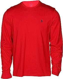 27755585373 Polo Ralph Lauren Men's Long Sleeve Classic Fit Crew Neck Pony Tee Shirt