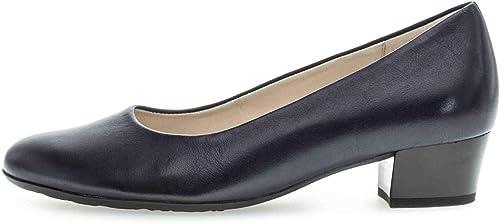 Gabor , Chaussures de Ville à Lacets pour Femme Bleu Bleu Nuit