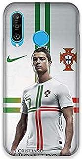 Funda para Huawei P30 Lite Cristiano Ronaldo Blanco