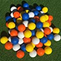 SkyLife Golf Practice Balls, Soft Golf Foam Balls for Indoor Outdoor Backyard Training (Orange 24pcs)