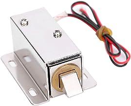 Elektrisch slot met solenoïde, mini-deurlade met tong naar beneden Elektrisch slot Solenoïde DC 12V slank ontwerpslot, mic...