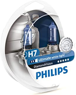 Philips - Diamond Vision H7 Halogen HID Bulbs (Pair)