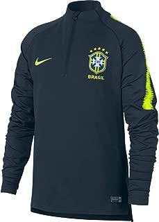 2018-2019 Brazil Training Drill Top (Navy) - Kids