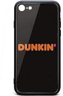 iPhone 6/6s Plus Case Dunkin-Donuts-Coffee-Logo- Ultra-Thin Back Case Anti-Slip Soft Silicone Rubber Cover Phone Case for iPhone 6S Plus Case [5.5 Inch]
