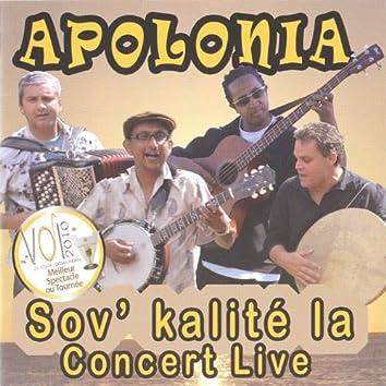 Sov' kalite la (Concert Live)